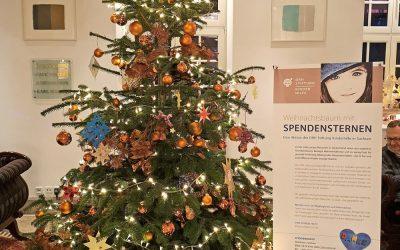 Spendenstern-Weihnachtsbaum-Aktion