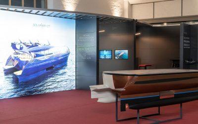 Willkommen auf der Yacht der Zukunft